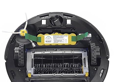 ASP ROBOT Batería 3000mah 14.4V para iRobot Roomba 630 Serie 600. Recambio recargable repuesto compatible para aspirador Roomba.