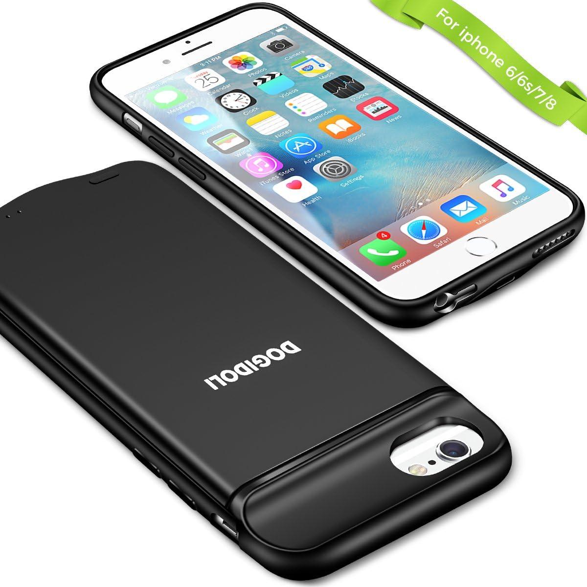 Custodia con batteria da 3000mAh per iPhone 6 / 6S a meno di 20