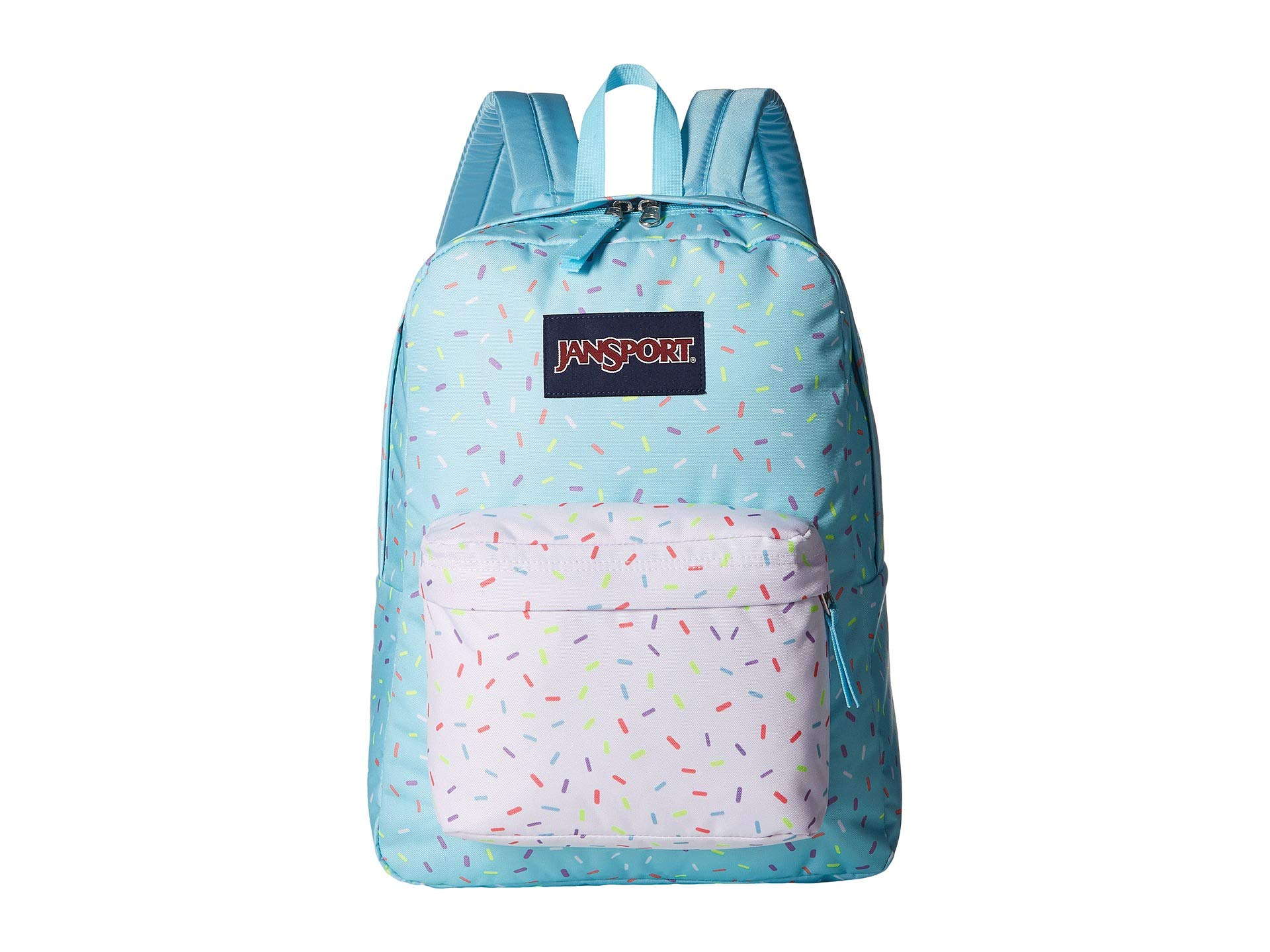 JanSport Unisex SuperBreak¿ Blue Topaz Sprinkle Me One Size