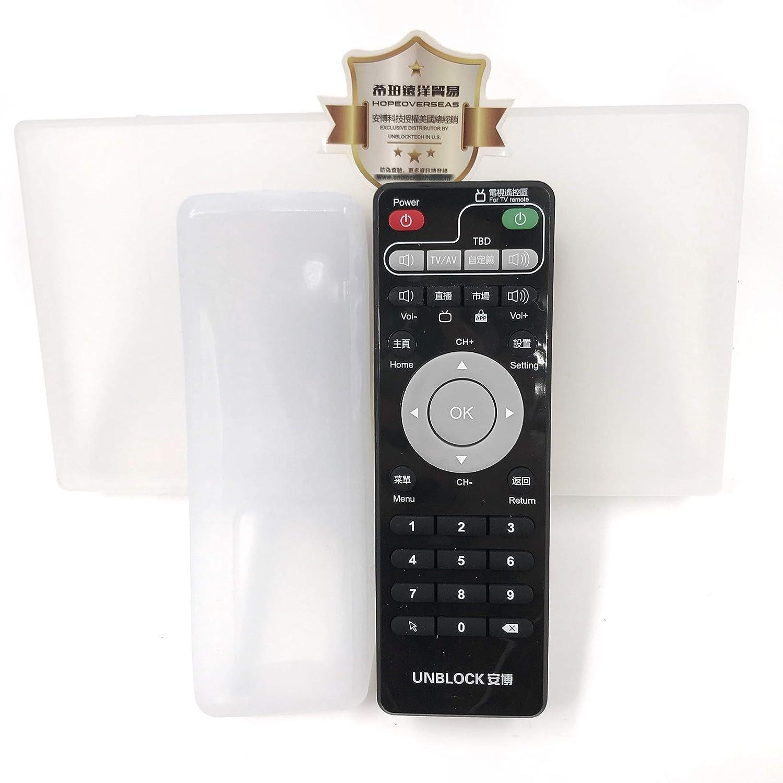 Telecomando originale sblocca Tech Tvbox controller. supporta tutti i modelli Ubox come S900 Pro S800 S800PLUS H800 UNBLOCK TECH UB RM