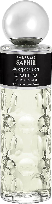 PARFUMS SAPHIR Acqua Uomo - Eau de Parfum con vaporizador para Hombre - 200 ml