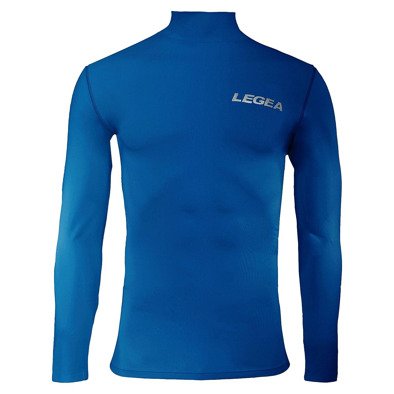 LEGEA Body 6 Dynamic de Camiseta Manga Larga Cuello Alto Hombre ...