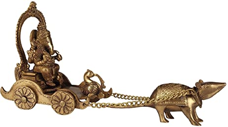 Why Lord Ganesha chose Mouse as his vehicle?