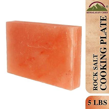 """Natural Himalayan Salt Block 8/"""" x 4/"""" x 2/"""""""