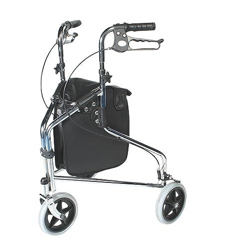 Patterson Medical - Andador de tres ruedas con frenos ...