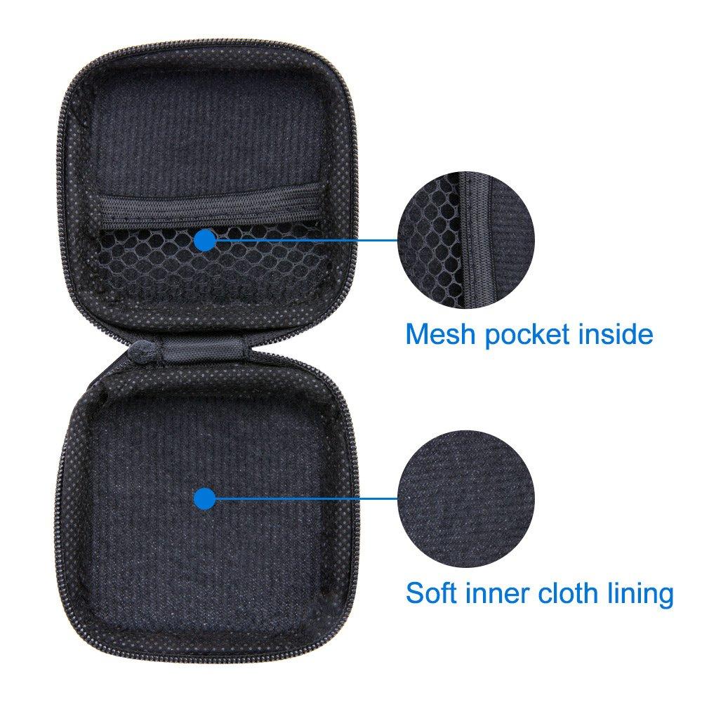 Amazon.com: Funda para auriculares, bolsa de almacenamiento ...