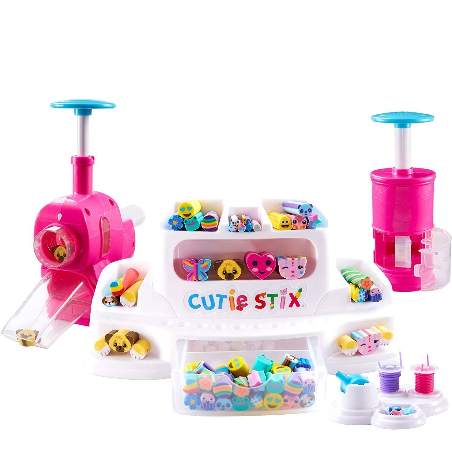 n Set di Gommini per Creare Oggetti Cut And Create Station 33130 Cutie Stix