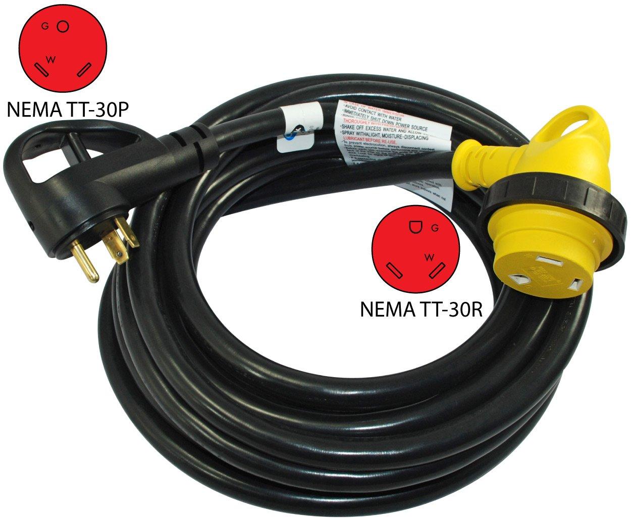 Conntek Cruiser RV 30A Detachable Power Supply Cord, 25-Feet by Conntek (Image #2)