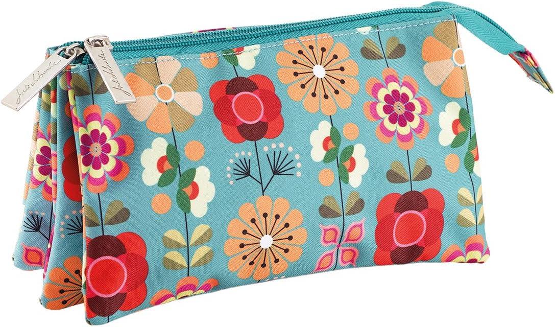 Jordi Labanda Floral - Portatodo triple, 225 x 115 x 20 mm: Amazon.es: Oficina y papelería