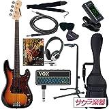 SELDER セルダー ベース プレシジョンベースタイプ PB-30/SB VOX amPlug2【アンプラグ2 AP-BS(BASS)】サクラ楽器オリジナルセット