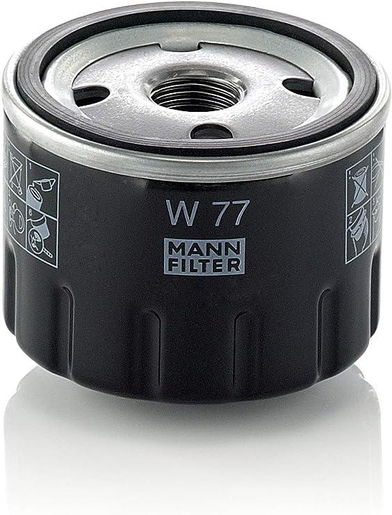 Original Mann Filter Ölfilter W 77 Für Pkw Und Nutzfahrzeuge Auto