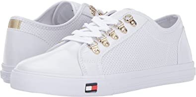 Amazon tommy hilfiger womens luxe shoes tommy hilfiger womens luxe white shoe publicscrutiny Images