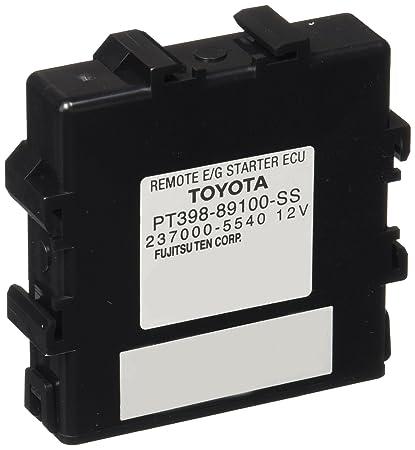amazon com: toyota genuine (pt398-03123) remote engine starter: automotive