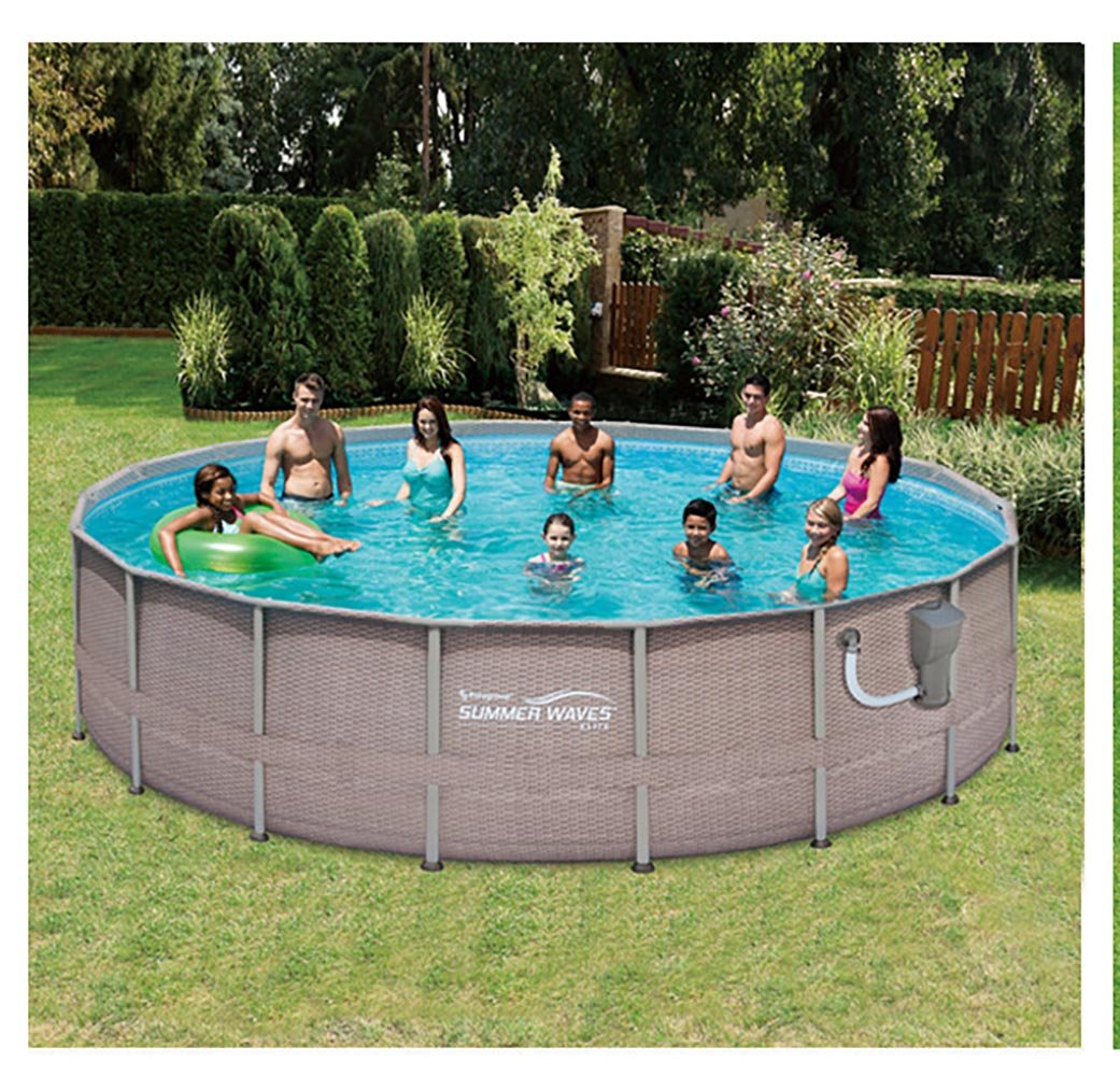 Summer Waves Above Ground Pool Set Black Friday Deal 2020