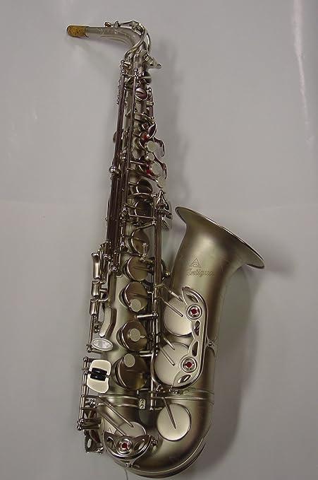 Antigua as4240cn Classic níquel acabado Pro para saxofón alto ...