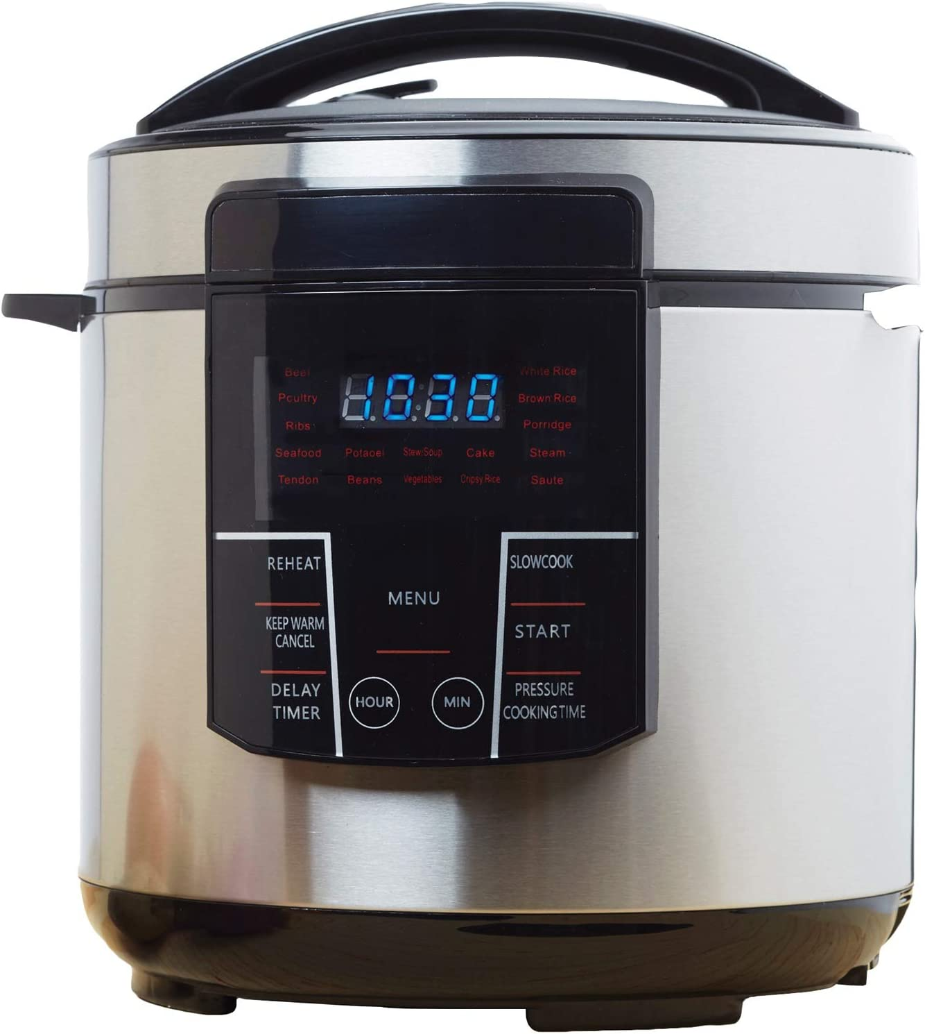 Brentwood Epc-626 Cooker - 1.50 Gal - Black, Stainless Steel