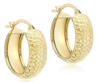 Carissima Gold Women's Yellow 9ct Yellow Gold Earring sXG4XhhJ0