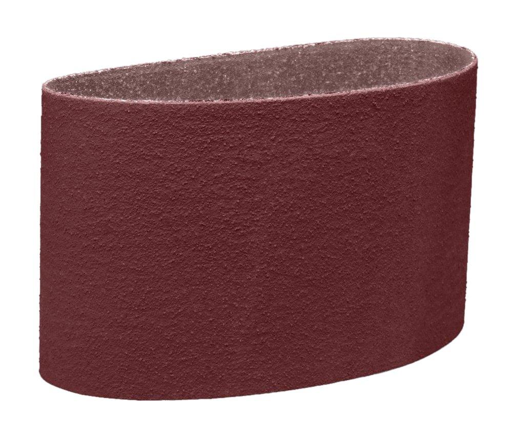 3M 26038 Cloth Belt 341D, 8'' x 107'' 36 X-Weight, Cloth Backing, Aluminum Oxide Abrasive Grit, 8'' Width, 107'' Length, (Pack of 10)