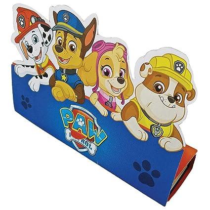 Net Toys 8 Invitaciones Para Cumpleaños Paw Patrol 16x21cm