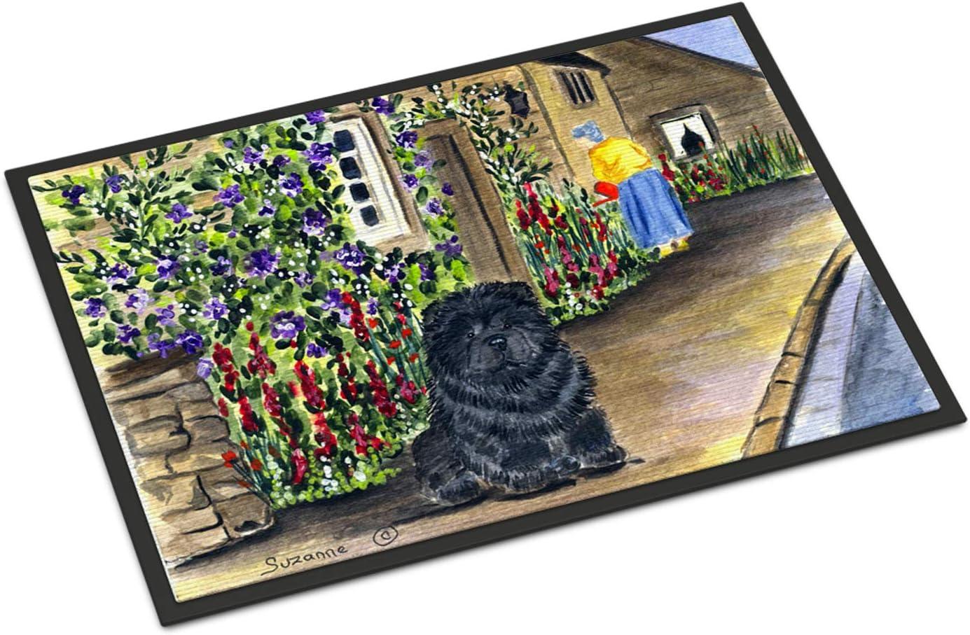 Caroline s Treasures SS8117MAT Chow Chow Indoor Outdoor Mat 18×27 Doormat, 18H X 27W, Multicolor