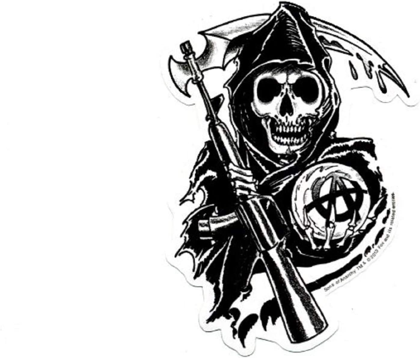 Sons Of Anarchy Reaper Parche: Amazon.es: Juguetes y juegos