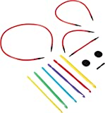 Love2Crochet Interchangeable Crochet Hook Set, USF 5/3.75mm-J10/6mm
