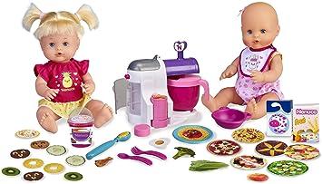 Comprar Nenuco - Hermanitas Traviesas en la Cocina, 2 Muñecas Bebés Comiditas, Multicolor, (Famosa 700015155)