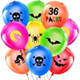 Halloween Balloon, 36Pcs Halloween Decoration Balloon for Birthday Party School Classroom Decor, Punch Balloons…