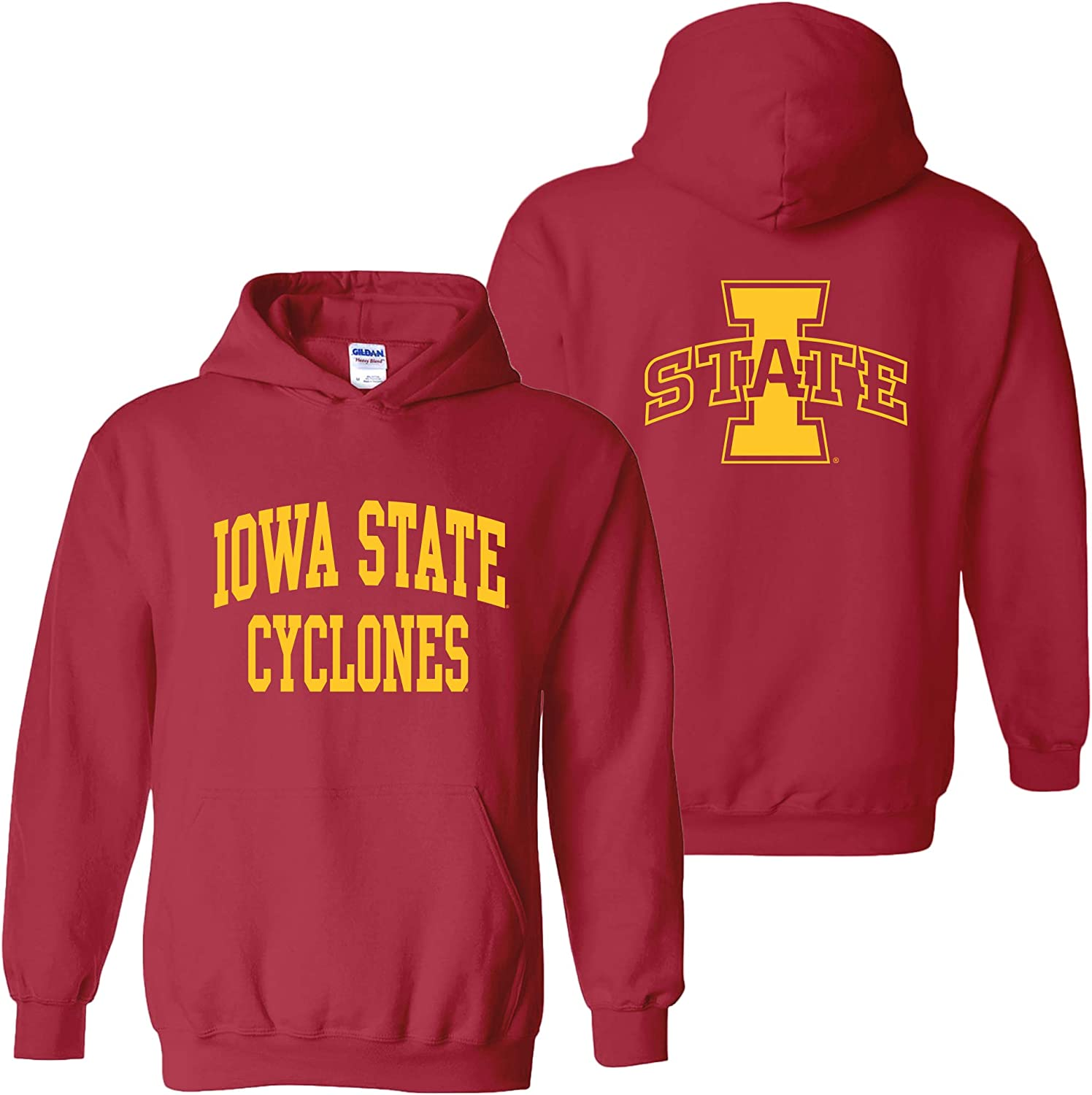 Shop from 1000 unique NCAA Front and Back Print Team Color Hoodie College University