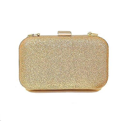 c5d8a61728 Switty Monedero brillo la noche Bolsa de Embragues Prom caja de embrague  monederos nupcial para Cóctel boda  Amazon.es  Zapatos y complementos