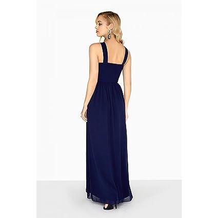 Little Mistress Womens/Ladies Zara Beaded Waist Maxi Dress: Amazon.co.uk: Clothing