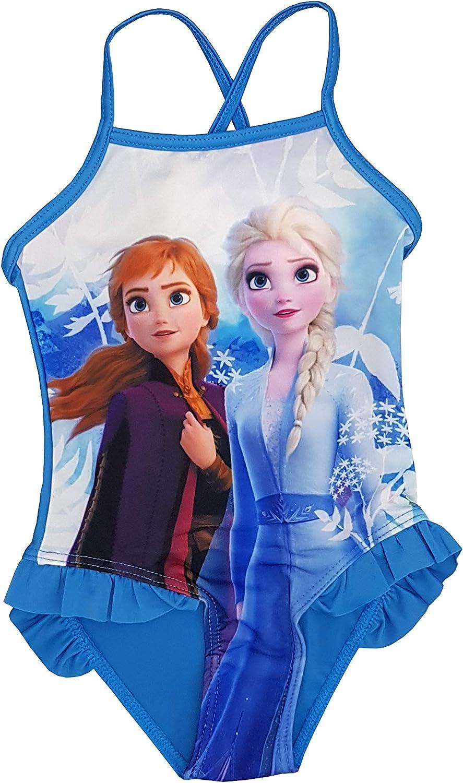 Costume Frozen Bikini Mare Piscina Intero e Due Pezzi per Bambina