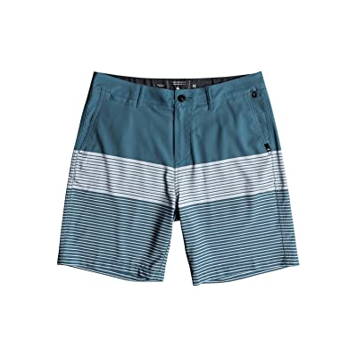 "Quiksilver Men's Union Division Amphibian 19"" Boardshort Walk Short: Clothing"