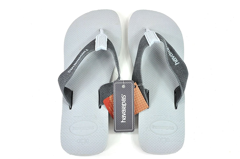 e8bb73f4bc4a2 Havaianas Urban Basic Flip flops - Ice Grey  Amazon.co.uk  Shoes   Bags