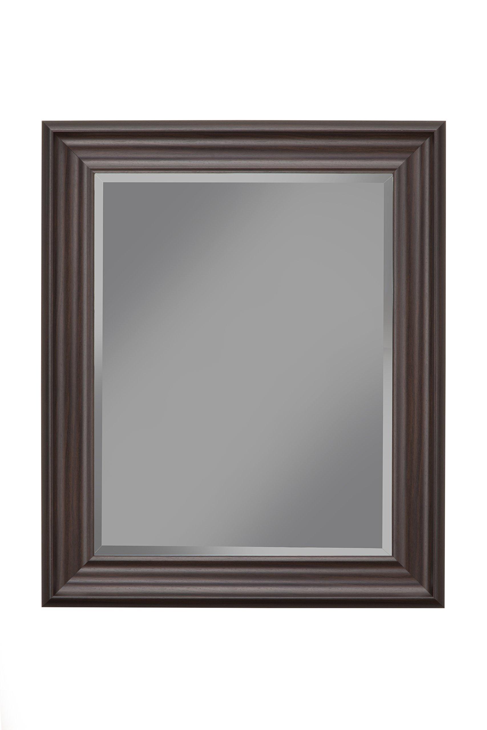 Sandberg Furniture, 36'' x 30'' Wall Mirror, Espresso