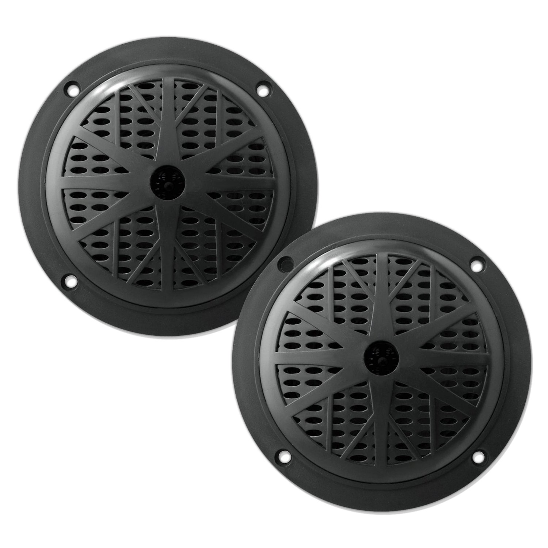 Pyle Marine Lautsprecher , 2-Wege 5,25 Zoll 100 Watt, 13,33 cm wei/ß