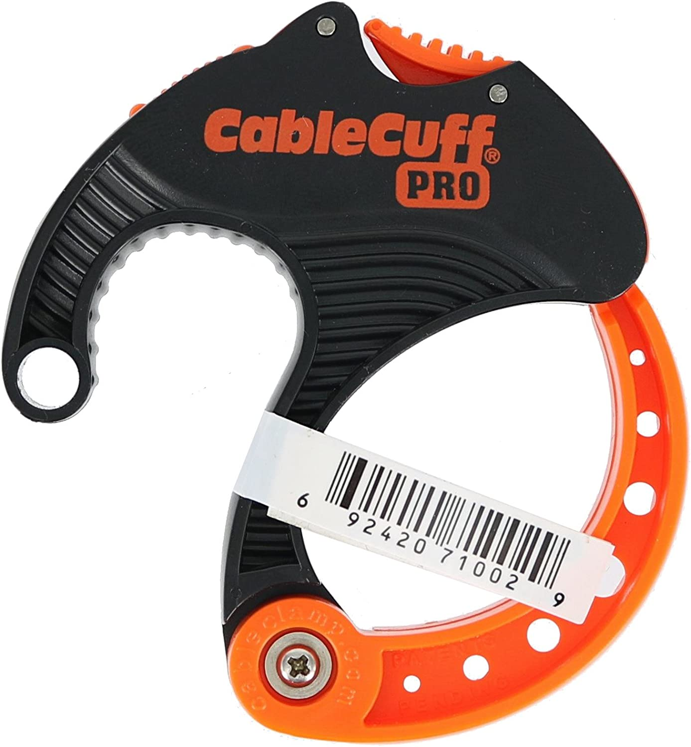 Cable Cuff PRO Medium Single Adjustable 2 Inch Diameter Reusable Cable Tie Replacement for Extension Cords or Electronics