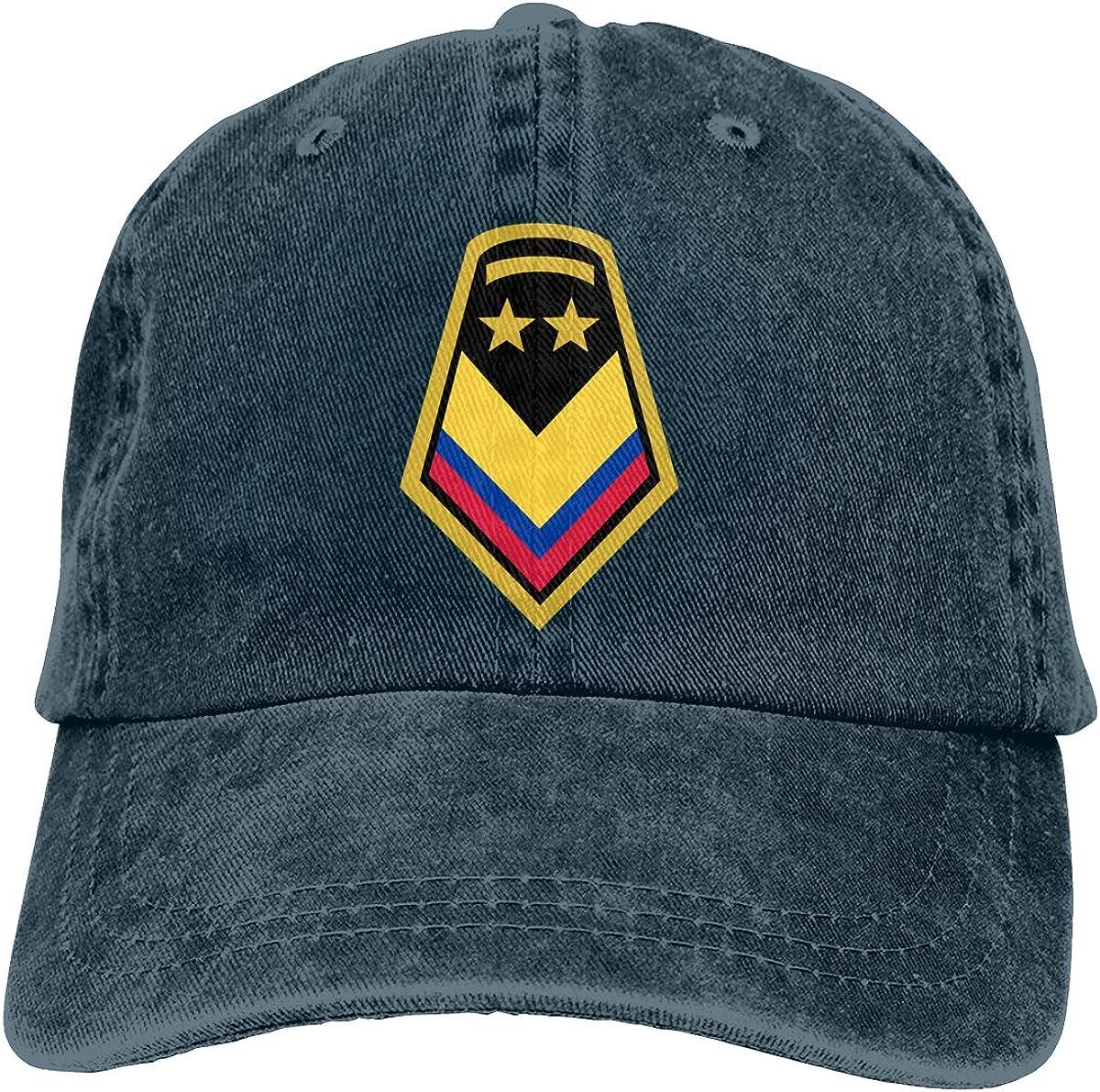YuHuauhuh Army-Sergeant Cool Cowboy Hat Black