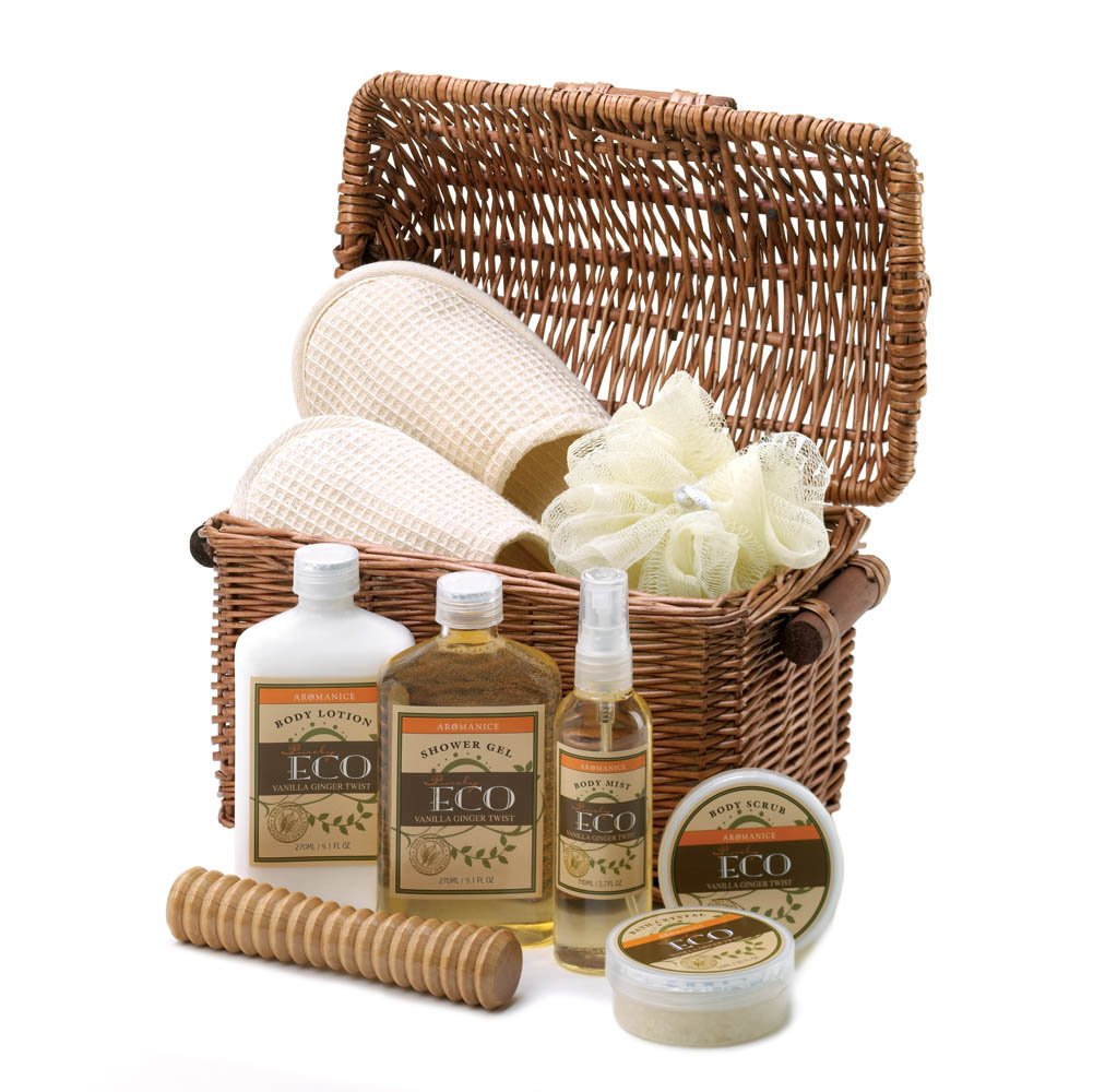 Vanilla Ginger Spa Basket