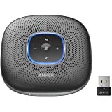 Anker PowerConf+ Bluetooth Speakerphone with Bluetooth Dongle, 6 Mics, Enhanced Voice Pickup, 24H Call Time, Bluetooth 5, USB
