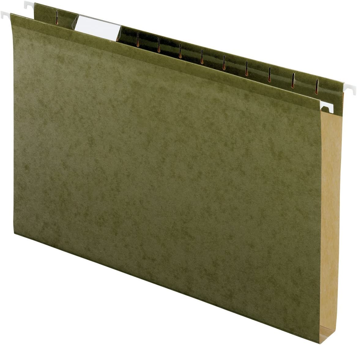"""Pendaflex 04153X1 Reinforced 1"""" Extra Capacity Hanging Folders, Legal, Standard Green, Box of 25 (4153X1) : Hanging File Folders : Office Products"""