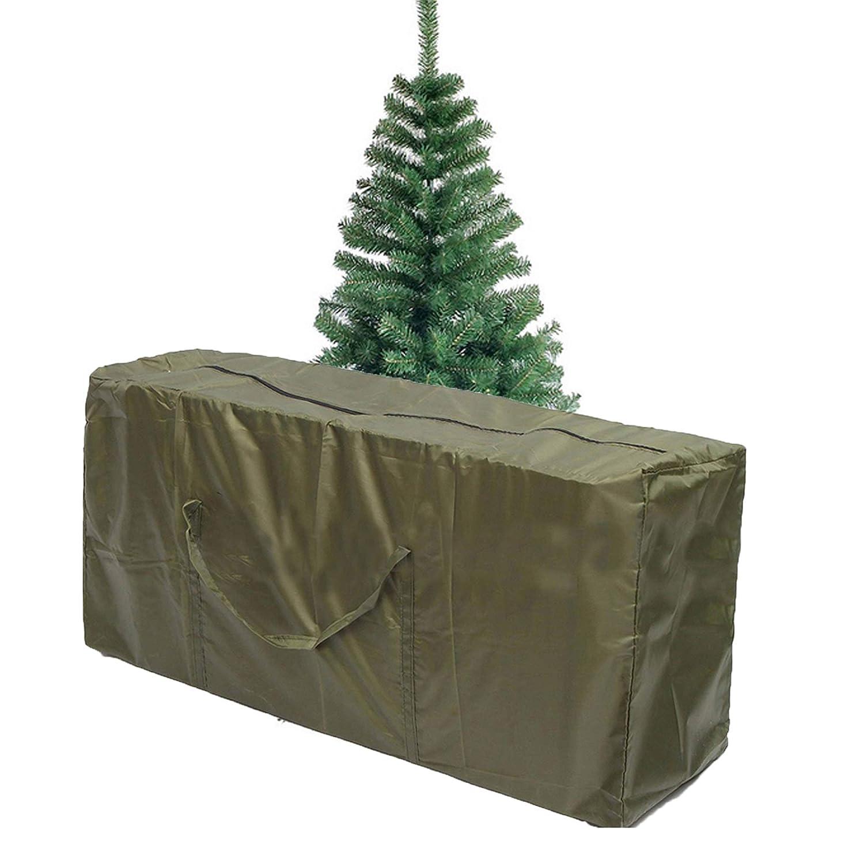 mudanza Bolsa de almacenamiento para /árbol de Navidad Camphelper para mantas ropa de cama bolsa de poli/éster resistente con asa