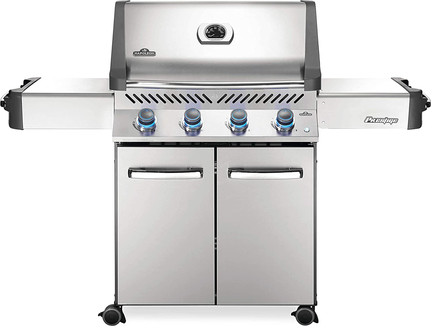 Napoleon P500PSS-3 Propane Grill, Stainless Steel