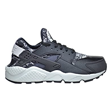 24fee7432fc73 Nike Air Huarache Run Print Women s Shoes Black Pure Platinum 725076-002  (5.5