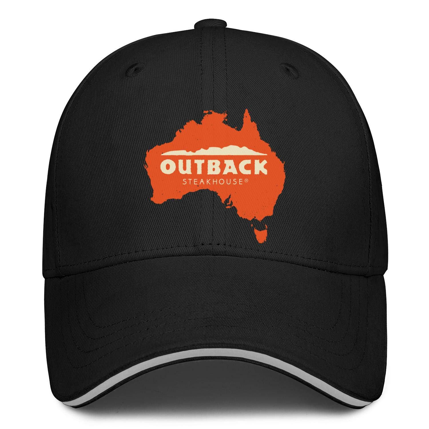 MLDCFGYUD Outback Steakhouse Map Men Womens Snapback Fitted Cap Hipster Beanie Hat Relaxed Hats