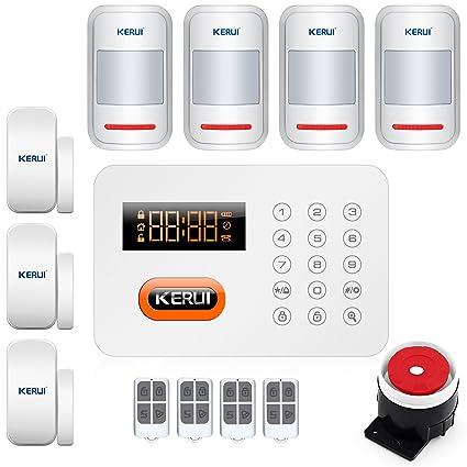 KERUI x1 antirrobo auto dial sistema de alarma táctil ...