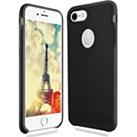 EatekPower Silicone Case for iPhone 7 (Black)