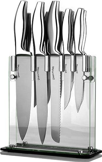 Amazon Com Utopia Kitchen Premium Class Stainless Steel Knife