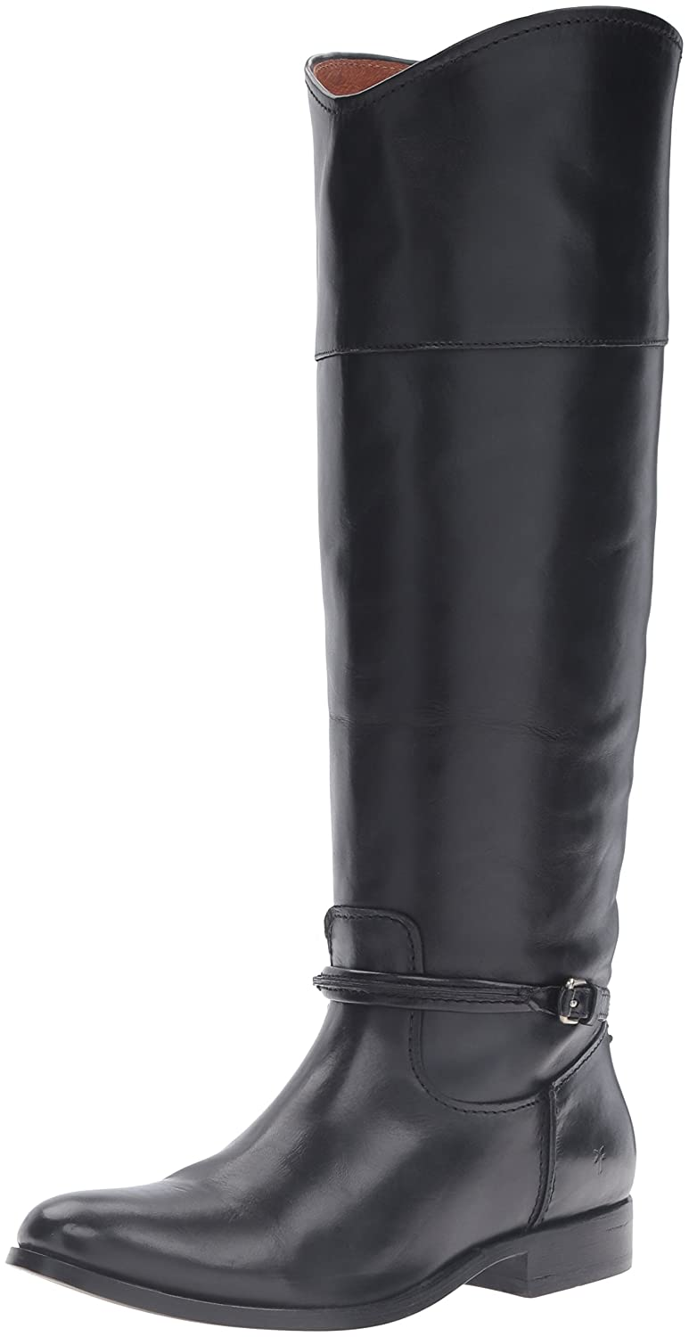 Black Frye Women's Melissa Seam Tall Riding Boot