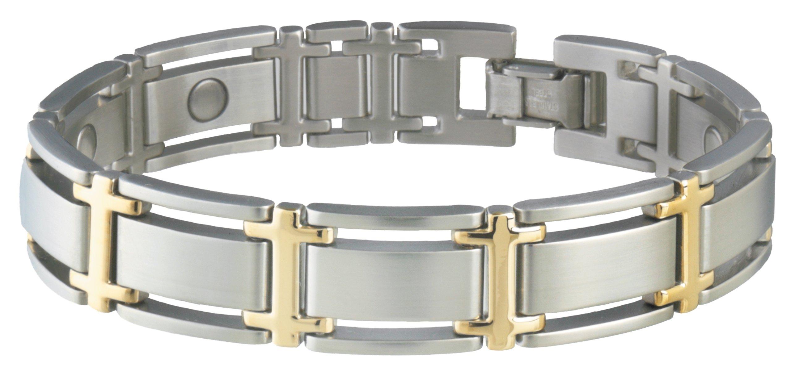 Sabona Executive Symmetry Duet Magnetic Bracelet - Large by Sabona (Image #1)